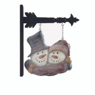 Hugging Snowmen Arrow Replacement
