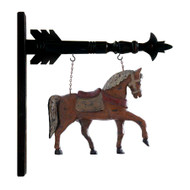 Brown Horse w/ Saddle Arrow Replacement (arrows sold separately)