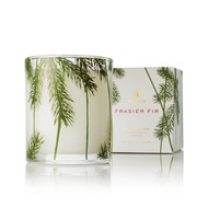 Frasier Fir Poured Candle, Pine Needle Design 6.5 oz  Available Now