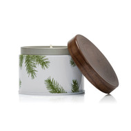 Frasier Fir Candle Tin 6.5 oz Pine Needle Design