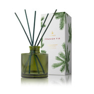 Frasier Fir Petite Reed Diffuser, Green Glass 4.0 fl. oz. Available for Pre-Order  (Ships Sept.)