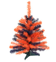 "24"" TEAM COLORED SPORTS TREE - Orange and Blue"