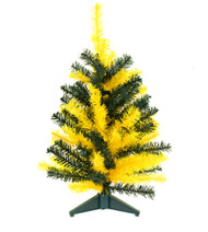 "24"" TEAM COLORED SPORTS TREE - Green and Gold"