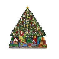 Byer's Choice Christmas Tree Advent Calendar Box