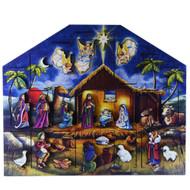Byer's Choice Nativity Advent Calendar Box