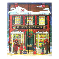 Byers Choice Toy Shoppe Musical Advent Calendar Box