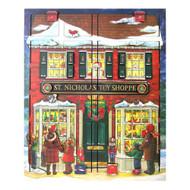 Byers Choice Toy Shoppe Musical Advent Calendar Box