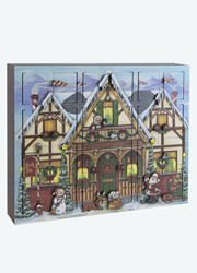 Byers Choice North Pole Advent Calendar Box,  Available for Pre-order
