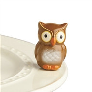 New! Nora Fleming Owl Mini-Available Now!