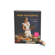 "Nora Fleming ""Mini Occasions"" Cook Book w/Book Mini Set"