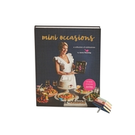 "New! Now Available!!  Nora Fleming ""Mini Occasions"" Cook Book w/Mini cook book mini Set-"