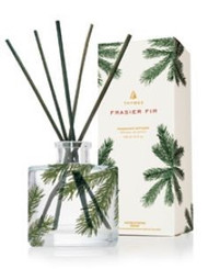 Thymes Frasier Fir Pine Needle Design Petite Reed Diffuser 4.0 oz.  Available  For Pre-Order (Ships Sept)