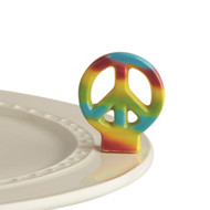New! Nora Fleming Peace Out Mini   Available Now !