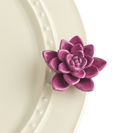 NEW! Nora Fleming Get Growing- Purple Succulent Flower Mini