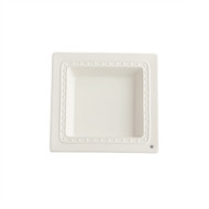 NEW! Square Napkin Holder/Candy Dish  On back Order due in Jan. 20th