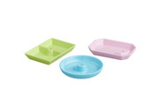 NEW! Nora Fleming Colorful Melamine Dainty Dishes 3pc set.  Available Now!