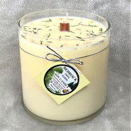 Bedrock Tree Farm 32oz. Lemongrass  Fir Needle Soy Candle Vase