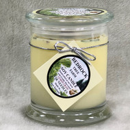 Bedrock Tree Farm  12 oz. Lemongrass Fir Needle Libbey Status Jar, Soy Candle