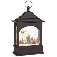 "11"" Flying Santa Lighted Water Lantern"