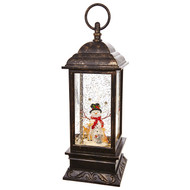 "11"" Snowman Musical Lighted Water Lantern   Pre-Order   Available Oct 1"