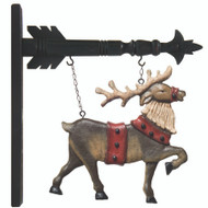 14 Inch Resin Reindeer Arrow Replacement (arrows sold separately)