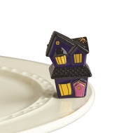 New!!!  Nora Fleming Haunted House Spooky Spaces Mini  Available for Pre-Order (Ships Late Aug.)