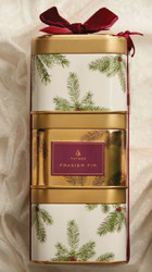 NEW! Frasier Fir Stacking Gift Tin Trio 3-9 oz Candles