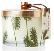 New!! Frasier Fir 3-Wick Poured Candle, 11.5 oz Pine Needle Design w/ Metal Lid
