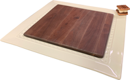Walnut Insert for Square Platter  Available Now!