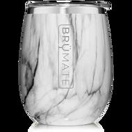 Brumate UNCORK'D XL  Wine Tumbler  Carrara  14oz