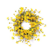 Yellow Shasta Daisy Wreath
