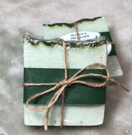Bedrock Tree Farms Fir Needle Soap Wrapped With Twine
