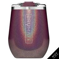 Brumate UNCORK'D XL Wine Tumbler Glitter Merlot  14oz
