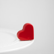 Nora Fleming Heart Mini, be mine,  On Back Order, Expected March 1st.