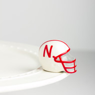 Nora Fleming Nebraska Helmet Mini