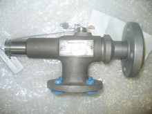 """ANDERSON GREENWOOD, RELIEF PRESSURE  VALVE P/N 114J-E37-MP0150 Size: 1"""" IN"""