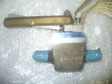 """CM VALVE, BALL 3000 PSI P/N 255721-26 Size: 1/4"""" IN"""