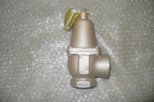 """WATTS Safety Relief Vavle P/N 740-1INCH-30PSI Size: 1 1/4"""" x 1"""""""