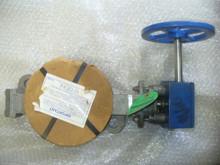 """KEYSTONE BUTTERFLY VALVE P/N 143-703-050-360-033 Size: 5"""" IN"""