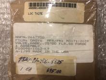 DERBYSHIRE MARINE VALVE,GLOBE P/N M3171-2039