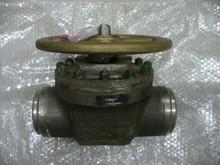 "LESLIE CONTROL  Fluid Regulating Pressure Valve P/N 19692N HWWLN-1 Size: 4"""