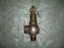 """KUNKLE Safety Relief Valve P/N 6000-F-1 Size 1"""" X 1 1/4"""""""