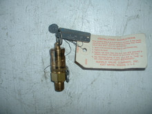 """Kunkle Safety Relief Valve P/N 48A1-4IN205PSI Size 1/4"""""""