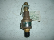Kunkle Safety Relief Valve P/N 6182DC01-KM0125