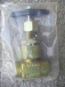 DRAGON GLOBE VALVE, P/N P10F015 Size: 3/8' IN