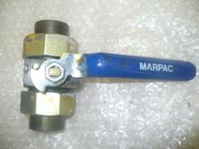 "MARPAC VALVE, BALL P/N CS B790 KLP Size: 3/4"" IN"