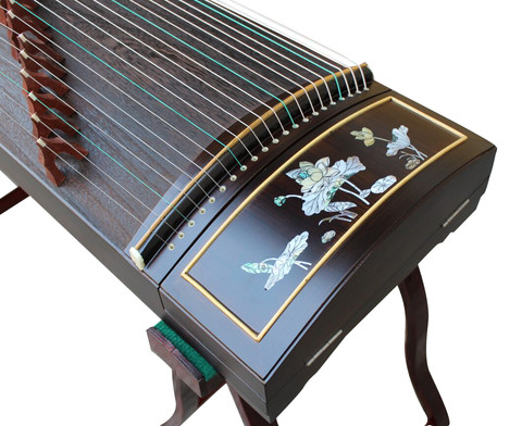 Professional Level Purple Sandalwood Guzheng Instrument Chinese Zither