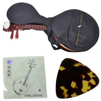 High Quality Xiao Ruan Instrument Chinese Mandolin Ruan With Accessories