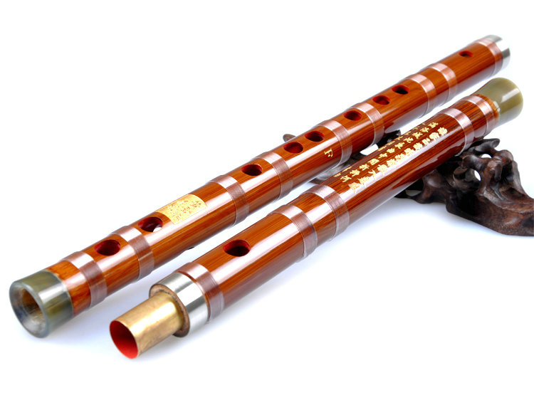 Concert Grade & Master Made Chinese Bitter Bamboo Flutes Kit with Case