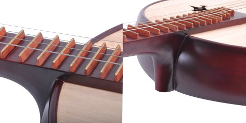 High Quality Zhongruan Instrument Chinese Mandolin Ruan With Acceesories